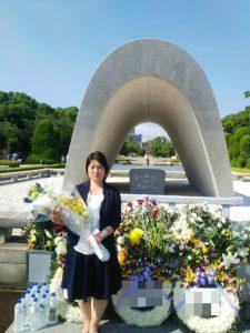 広島市原爆死没者慰霊式並びに平和祈念式に参加いたしました。