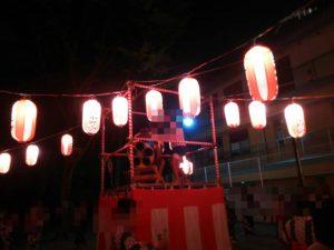 納涼盆踊り大会に参加させて頂きました。