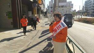 三沢ひで子☀選挙3日目!